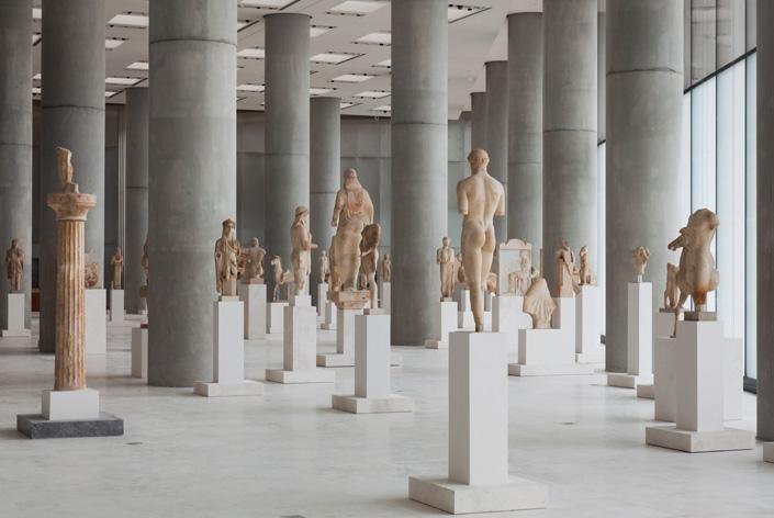 New Acropolis Museum Location: Athens, Greece Architect: Bernard Tschumi Architect