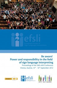 efsli 2012 proceedings frot cover